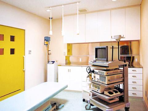 北九州市小倉北区の大久保内科胃腸科 内視鏡室